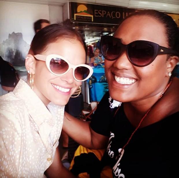 Bruna Marquezine e Luana Xavier (Foto: Reprodução/Instagram)