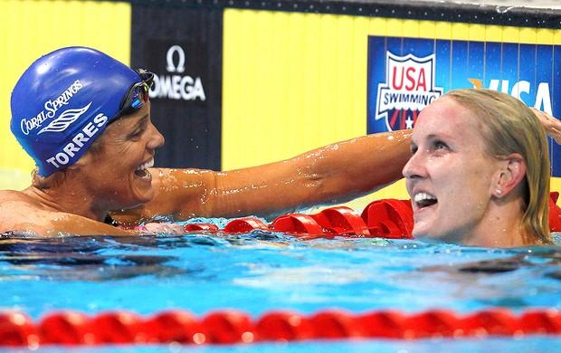 Dara Torres, Jessica Hardy, natação (Foto: Agência Reuters)