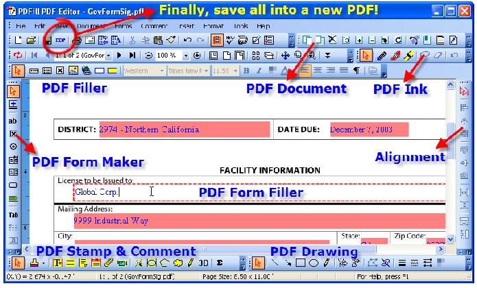 PDFill PDF Editor permite que você tenha um controle de edição completo (Foto: Divulgação/Softnic)