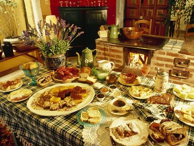 Gramado: gastronomia farta é uma das atrações (Foto: Leonid Straliaev/Prefeitura de Gramado)