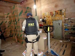Operação 'Fumaça Clandestina' fechou indústria clandestina de cigarros (Foto: Divulgação)