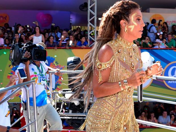Ivete Sangalo arrasta multidão no circuito do Campo Grande, em Salvador (Foto: Sérgio Pedreira/Ag. Haack)