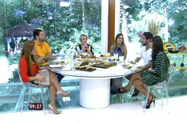 Ex-BBBs falaram sobre suas trajetórias no programa (Foto: Reprodução/RBS TV)