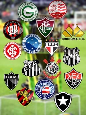 Times classificados para as oitavas de final da Copa do Brasil sub-20 (Foto: GloboEsporte.com)