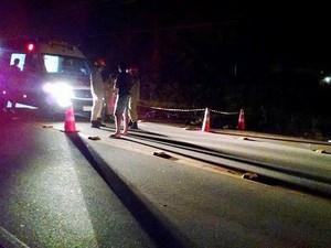 Acidente ocorreu na BR-356, próximo ao Instituto Federal Fluminense (Foto: Renato Timotheo/Parahybano)