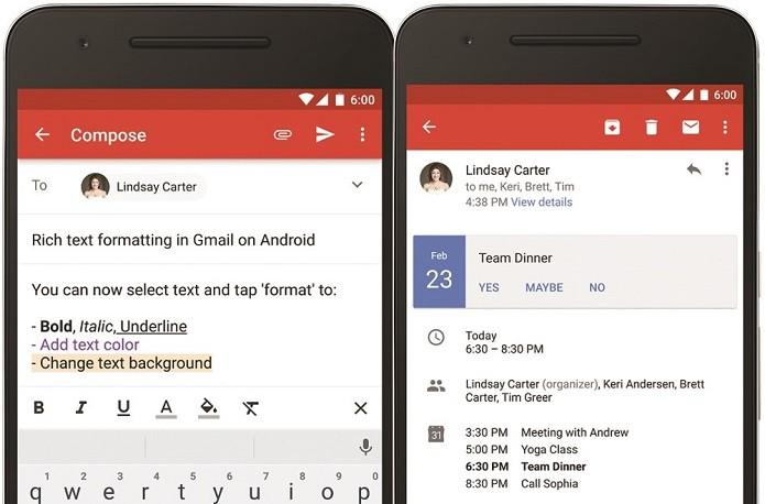 Gmail ganha dois novos recursos em atualização (Foto: Divulgação/Google)