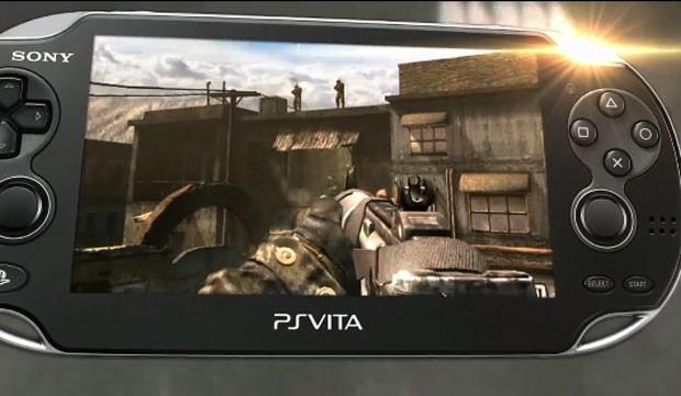 'Black Ops II no PS Vita (Foto: Divulgação)