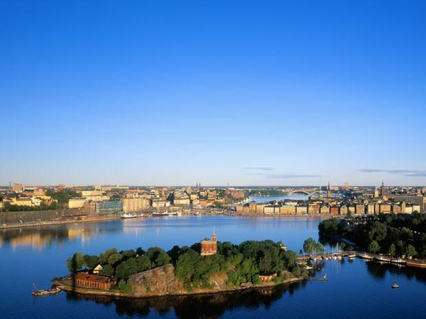 Estocolmo, na Suécia (Foto: Visit Stockholm/Divulgação)