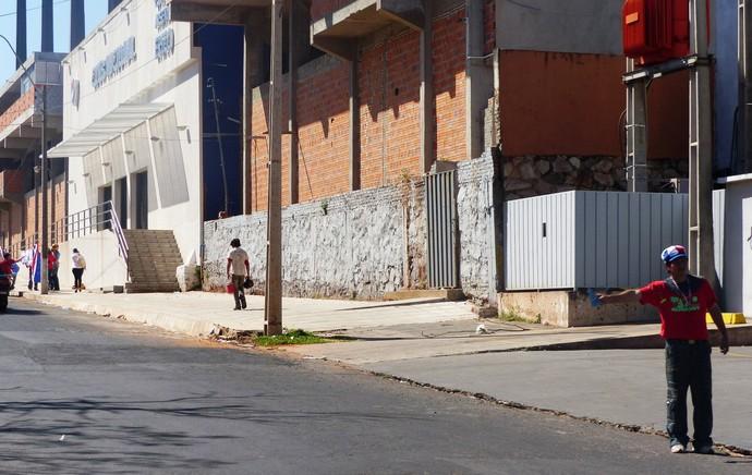cambistas nacional paraguai x san lorenzo final libertadores (Foto: Daniel Mundim)