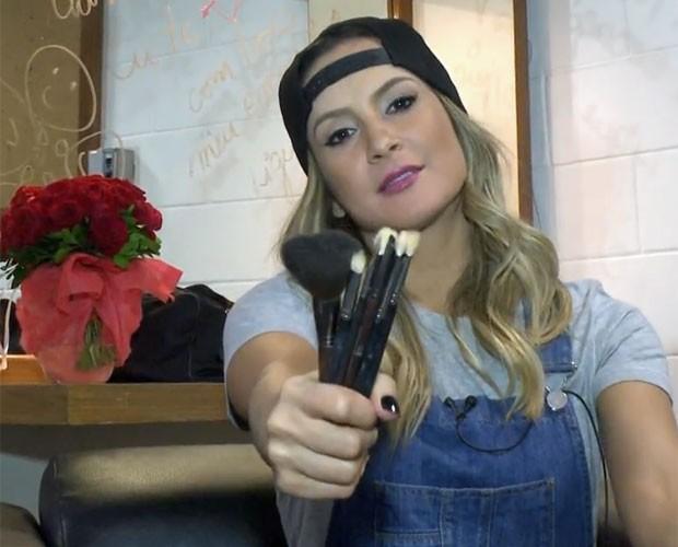 Claudinha diz que foi seu maior desafio na hora de dar dicas (Foto: Gshow/TV Globo)