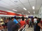 Clientes lotam agências após fim da greve dos bancários em Boa Vista