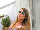 Solteiras, Babi Rossi e Andressa Urach sensualizam em Florianópolis