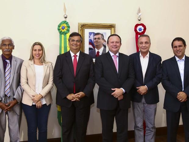 Governador e prefeitos da Ilha de São Luís discutem ações para organização da Região Metropolitana (Foto: Gilson Teixeira/Secap)