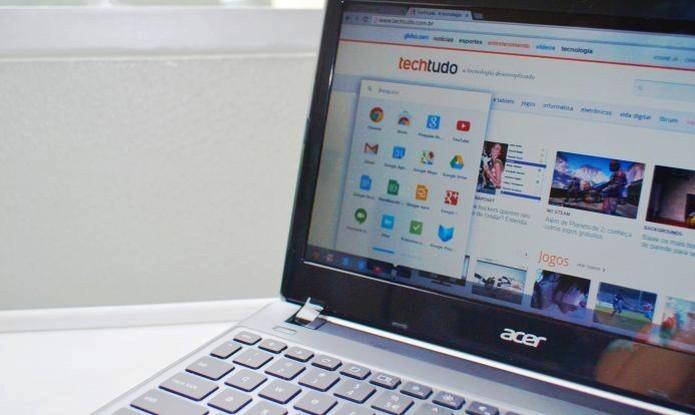 computador-rodando-o-chromebook (Foto: TechTudo)