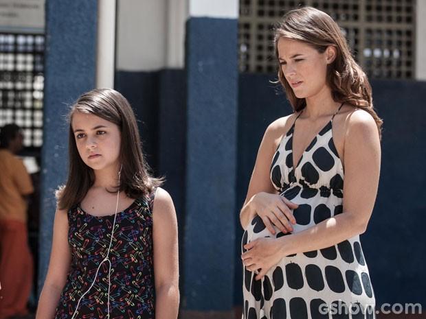 Paloma e Paulinha (Foto: Inácio Moraes/TV Globo)