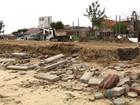 Após ciclone, prefeitura trabalha para recuperar a praia em Tramandaí, RS