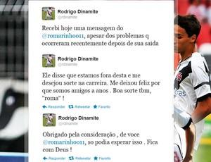 Roberto Dinamite filho twitter (Foto: Reprodução / Twitter)