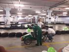 Estudantes participam de desafio de karts desenvolvidos por eles em SC