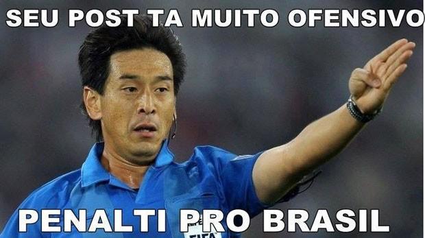 Juiz jogo Brasil (Foto: Reprodução)