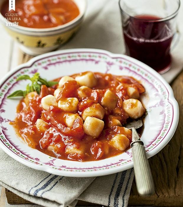 Sugestões do chef João Lima: o clássico molho de tomate  (Foto: Elisa Correa/Editora Globo)