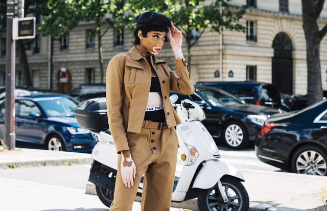 Street style em Paris (Foto: Stedy Theodore)
