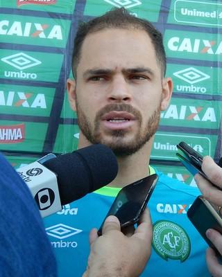 Silvinho Chapecoense (Foto: Laion Espíndula)