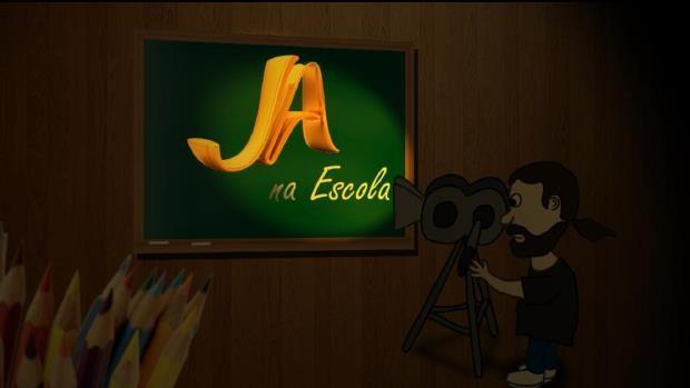 Série sobre o projeto 'JA na Escola' começa a ser exibida nesta terça-feira (7) (Foto: Reprodução/RBS TV)