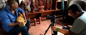 TV Gazeta de Alagoas prepara VT sobre sinal HD em Penedo; confira os bastidores (Divulgação/ TV Gazeta)