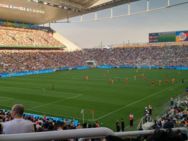Arena Corinthians terá dois jogos de futebol masculino (Foto: Paulo Guilherme/G1)