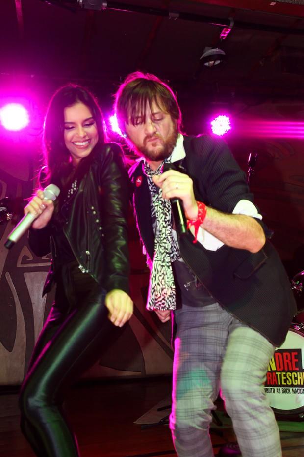 Mariana Rios e André Frateschi (Foto: Marcos Ribas/Brazil News)