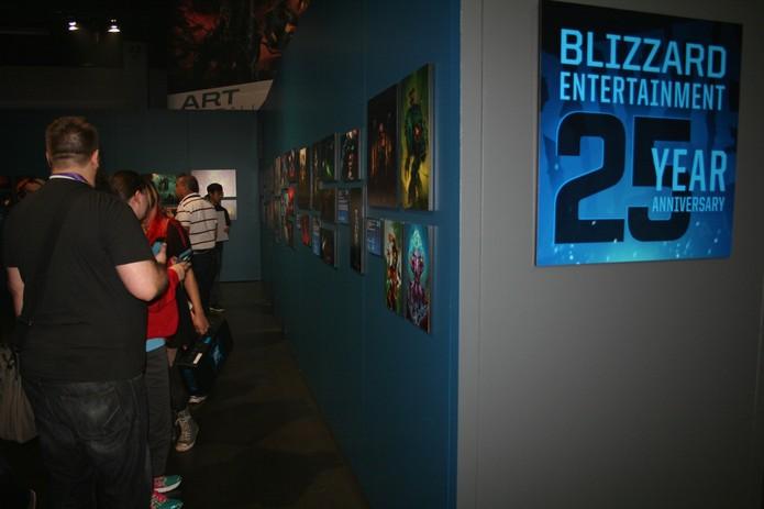 BlizzCon de 2016 celebra 25 anos da Blizzard com exposição (Foto: Felipe Vinha)