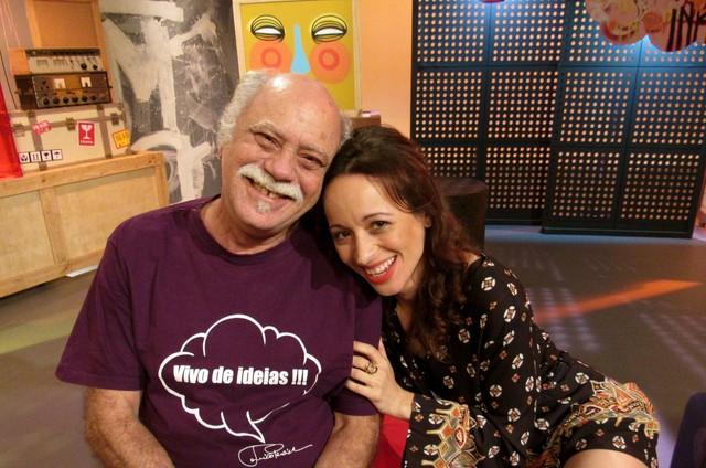 Liliane Reis recebeu Tonico Pereira no 'Estúdio móvel', da TV Brasil (Foto: Kamyla Abreu)