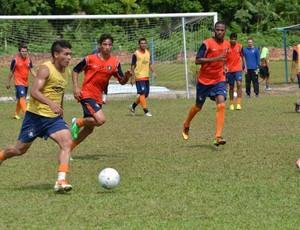 Remo treinou no CT do Estrela, em Ananindeua (Foto: Ascom/Remo)