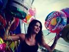 Isabelli Fontana comemora aniversário