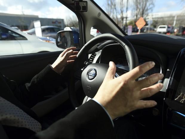 Nissan mostra tecnologia autônoma na CES, em Las Vegas (Foto: REUTERS/Noah Berger)