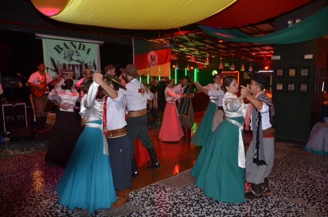 Integrantes do PTG formaram a Banda Nativa (Foto: PTG China Veia/Divulgação)