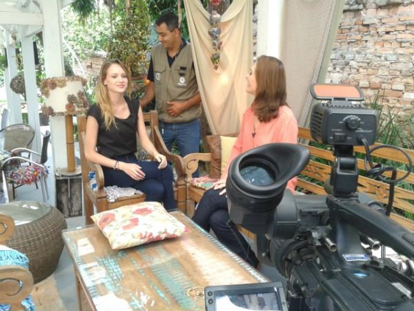 Reportagem contou com trabalho de Larissa Schmidt, Diego Vieira e Geonanio Wollinger (Foto: Diego Vieira/RBS TV)