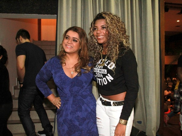 Preta Gil e Mc Ludmilla em festa na Zona Oeste do Rio (Foto: Graça Paes/ Foto Rio News)