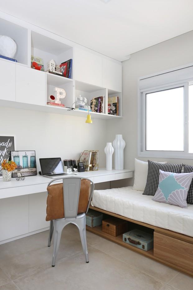Decoração escandinava amplia apartamento de 60 m² (Foto:Mariana Orsi)