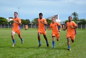 Cucaú e Cabixi já treinam com a equipe do Vilhena (Foto: Sandra Belli)