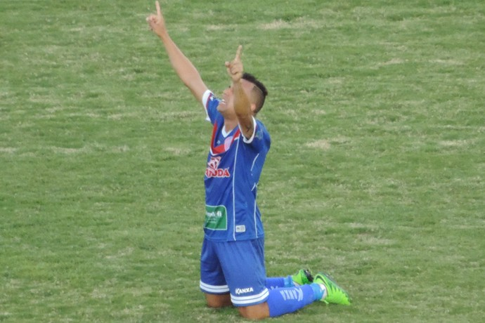 Renatinho meia Grêmio Prudente (Foto: Ronaldo Nascimento / GloboEsporte.com)
