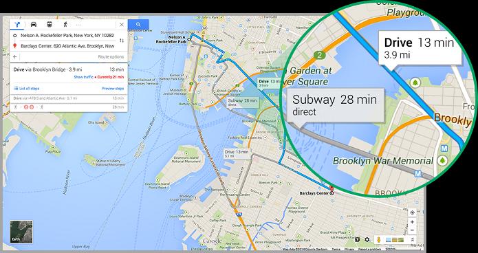 Maps ganhou novo recurso (Foto: Divulgação/Google)