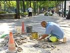 Crise econômica faz diminuir o número de calceteiros em Portugal