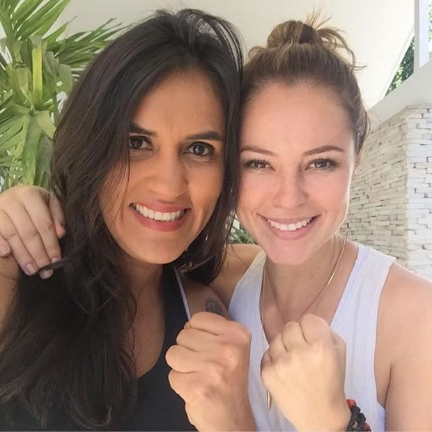Erica Paes e Paolla Oliveira (Foto: Instagram / Reprodução)