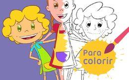 Para colorir: Talheres e Chefs