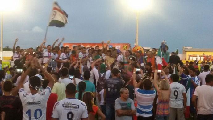 Independente é o campeão do primeiro turno do estadual (Foto: Tayna Martinez/Arquivo Pessoal)