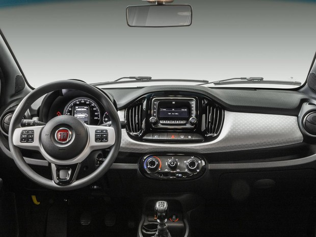 Fiat Uno 2015 (Foto: Divulgação)
