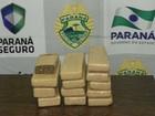 Polícia prende dois e apreende 12,5 kg de maconha em General Carneiro