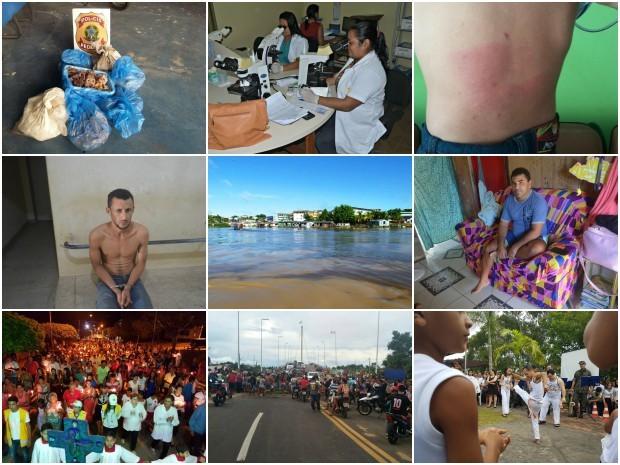 Reportagens publicadas entre 19 e 25 de março no G1 Cruzeiro do Sul (Foto: Editoria de Arte/G1)