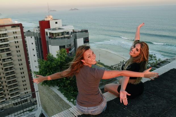 Anamara e Marien (Foto: Isac Luz / EGO)